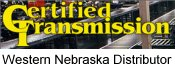 Western NE Distributor for Certified Transmission