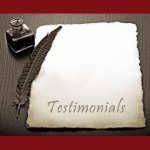 CLICK HERE to submit a testimonial